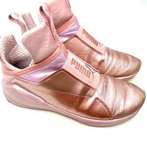 Puma Fierce Rose Gold Sneaker
